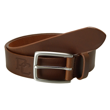 PC Leather Belt - Brown