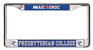 Presbyterian College License Plate Frame