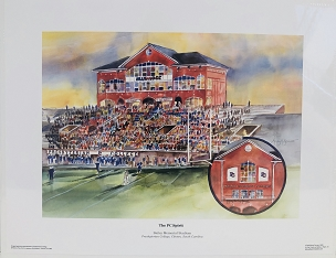 Bailey Memorial Stadium Print