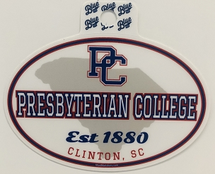Presbyterian College Est. 1880 Sticker