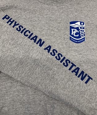 Physician Assistant Long Sleeve T-Shirt - Gray