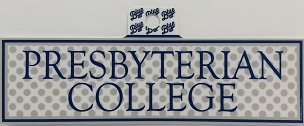Presbyterian College Polka Dot Sticker