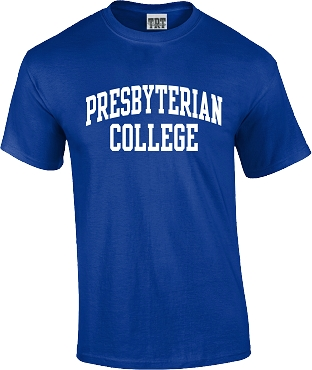 Presbyterian College T Shirt - Royal