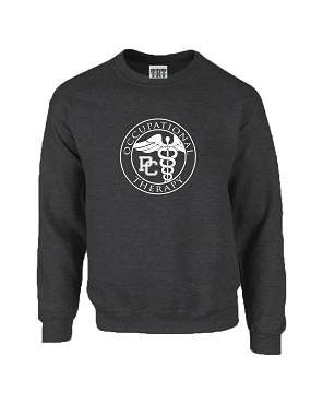 Occupational Therapy Crew Sweatshirt - Dark Heather