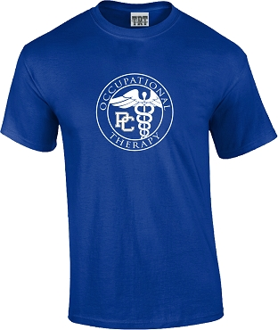 Occupational Therapy Short Sleeve T Shirt - Royal