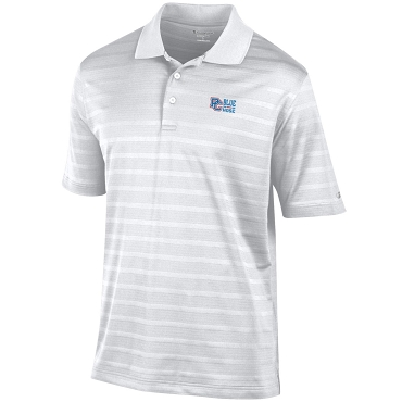 PC Blue Hose Textured Polo